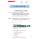 Sharp MX-M364N, MX-565N (serv.man87) Technical Bulletin