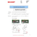 Sharp MX-M364N, MX-565N (serv.man93) Technical Bulletin