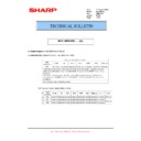 Sharp MX-M364N, MX-565N (serv.man97) Technical Bulletin