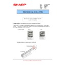 Sharp MX-M364N, MX-565N (serv.man98) Technical Bulletin