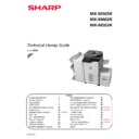 Sharp MX-M364N, MX-565N Handy Guide