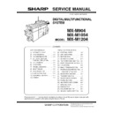 Sharp MX-M904, MX-M1204 (serv.man10) Service Manual