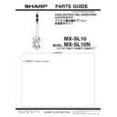 Sharp MX-M904, MX-M1204 (serv.man14) Parts Guide