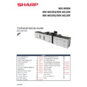 Sharp MX-M904, MX-M1204 (serv.man2) Handy Guide