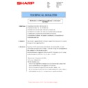 Sharp MX-M904, MX-M1204 (serv.man46) Technical Bulletin