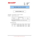 Sharp MX-M904, MX-M1204 (serv.man50) Technical Bulletin