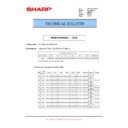 Sharp MX-M904, MX-M1204 (serv.man51) Technical Bulletin