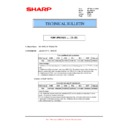 Sharp MX-M904, MX-M1204 (serv.man53) Technical Bulletin