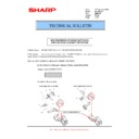 Sharp MX-M904, MX-M1204 (serv.man57) Technical Bulletin
