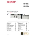 Sharp MX-M904, MX-M1204 (serv.man6) Handy Guide