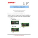 Sharp MX-M904, MX-M1204 (serv.man62) Technical Bulletin