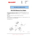 Sharp MX-M904, MX-M1204 (serv.man63) Technical Bulletin