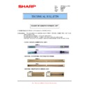 Sharp MX-M904, MX-M1204 (serv.man65) Technical Bulletin