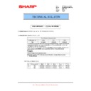 Sharp MX-M904, MX-M1204 (serv.man66) Technical Bulletin