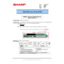 Sharp MX-M904, MX-M1204 (serv.man75) Technical Bulletin