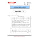 Sharp MX-M904, MX-M1204 (serv.man77) Technical Bulletin