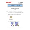 Sharp MX-M904, MX-M1204 (serv.man81) Technical Bulletin