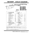 Sharp MX-M950, MX-MM1100 (serv.man10) Service Manual