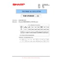 Sharp MX-M950, MX-MM1100 (serv.man101) Technical Bulletin
