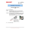 Sharp MX-M950, MX-MM1100 (serv.man102) Technical Bulletin