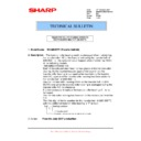 Sharp MX-M950, MX-MM1100 (serv.man103) Technical Bulletin
