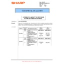 Sharp MX-M950, MX-MM1100 (serv.man104) Technical Bulletin