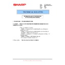 Sharp MX-M950, MX-MM1100 (serv.man105) Technical Bulletin