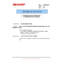 Sharp MX-M950, MX-MM1100 (serv.man106) Technical Bulletin