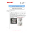 Sharp MX-M950, MX-MM1100 (serv.man107) Technical Bulletin