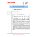 Sharp MX-M950, MX-MM1100 (serv.man108) Technical Bulletin