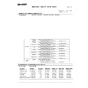 Sharp MX-M950, MX-MM1100 (serv.man113) Regulatory Data