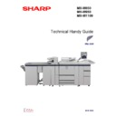 Sharp MX-M950, MX-MM1100 (serv.man4) Handy Guide