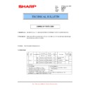Sharp MX-M950, MX-MM1100 (serv.man69) Technical Bulletin