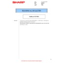 Sharp MX-M950, MX-MM1100 (serv.man73) Technical Bulletin