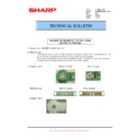 Sharp MX-M950, MX-MM1100 (serv.man75) Technical Bulletin