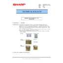 Sharp MX-M950, MX-MM1100 (serv.man76) Technical Bulletin