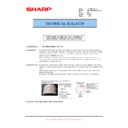 Sharp MX-M950, MX-MM1100 (serv.man77) Technical Bulletin