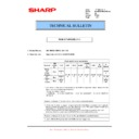Sharp MX-M950, MX-MM1100 (serv.man78) Technical Bulletin