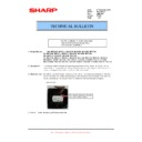 Sharp MX-M950, MX-MM1100 (serv.man79) Technical Bulletin