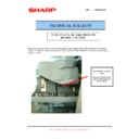 Sharp MX-M950, MX-MM1100 (serv.man82) Technical Bulletin