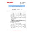 Sharp MX-M950, MX-MM1100 (serv.man83) Technical Bulletin