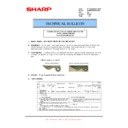 Sharp MX-M950, MX-MM1100 (serv.man85) Technical Bulletin