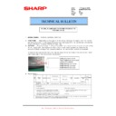 Sharp MX-M950, MX-MM1100 (serv.man86) Technical Bulletin