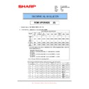 Sharp MX-M950, MX-MM1100 (serv.man88) Technical Bulletin