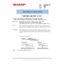 Sharp MX-M950, MX-MM1100 (serv.man89) Technical Bulletin