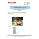 Sharp MX-M950, MX-MM1100 (serv.man90) Technical Bulletin