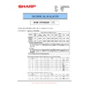 Sharp MX-M950, MX-MM1100 (serv.man91) Technical Bulletin