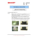 Sharp MX-M950, MX-MM1100 (serv.man92) Technical Bulletin
