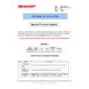 Sharp MX-M950, MX-MM1100 (serv.man93) Technical Bulletin
