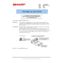 Sharp MX-M950, MX-MM1100 (serv.man95) Technical Bulletin